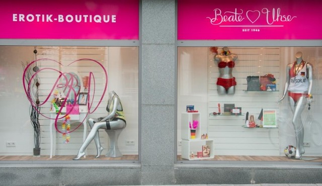 Ein Sex-Shop der Beate Uhse AG in Hannover. (picture alliance / dpa / Julian Stratenschulte)